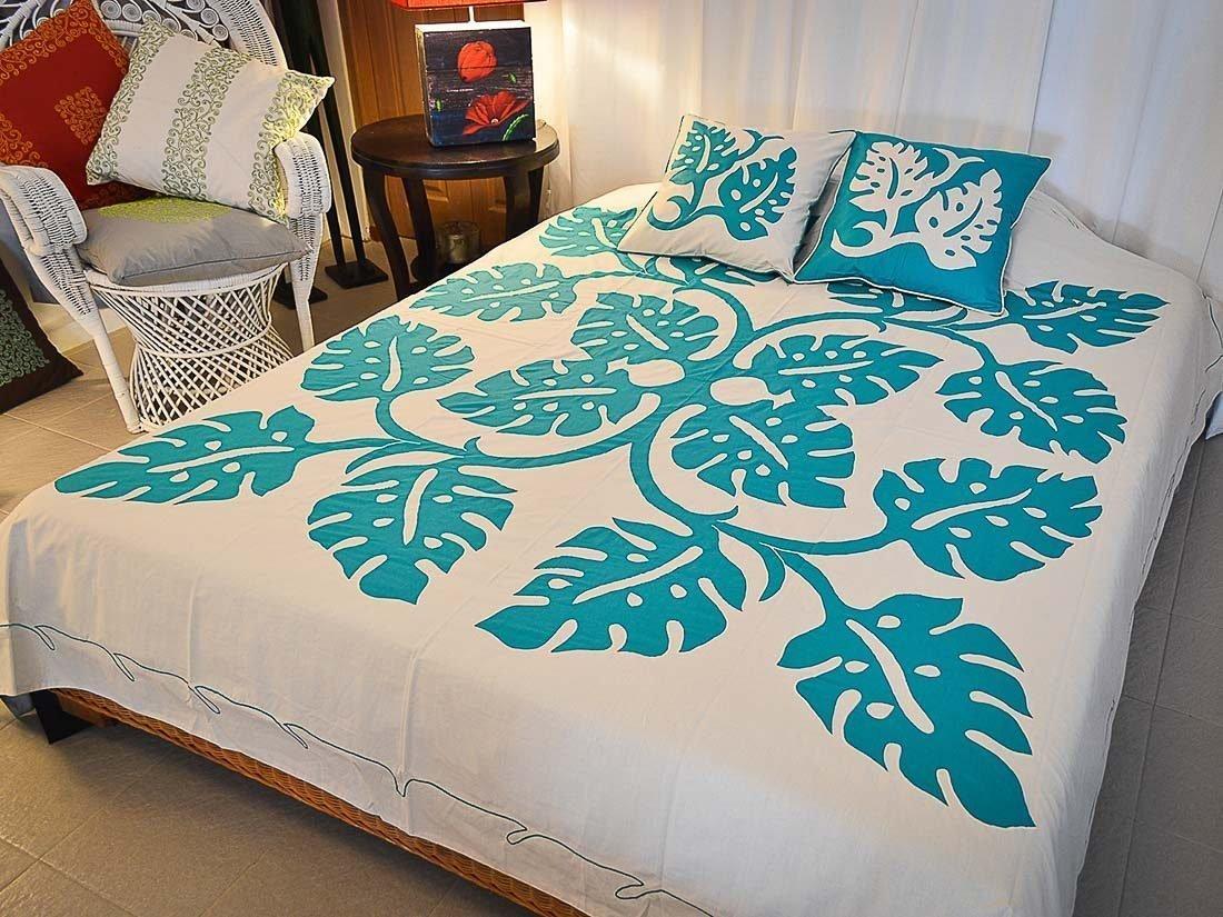 Bed Cover Appliqué Asana