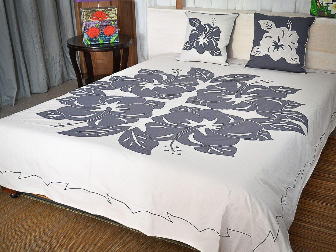 Bed Cover Appliqué Fara