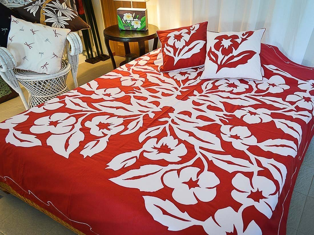 Bed Cover Appliqué Maeva