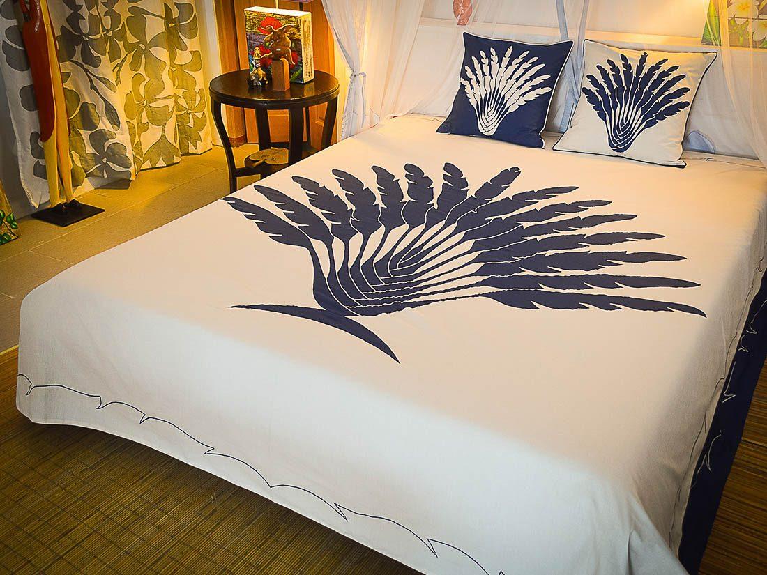 Bed Cover Appliqué Moana