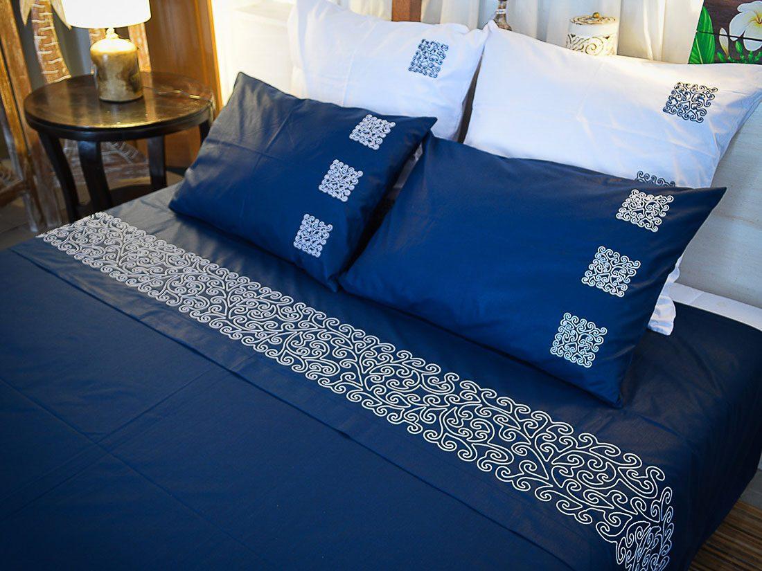 Bed Sheet Set Coralie Square