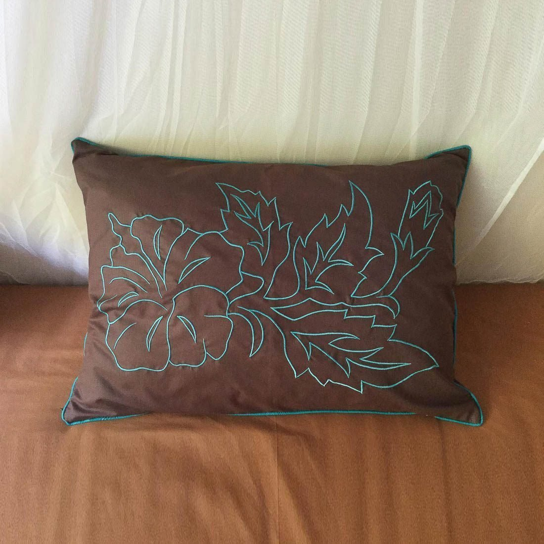 Cushions Embroidery Pucuk