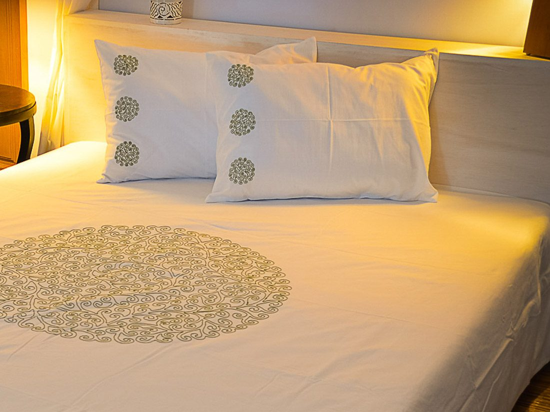 Pillow Cover Coralie Circle