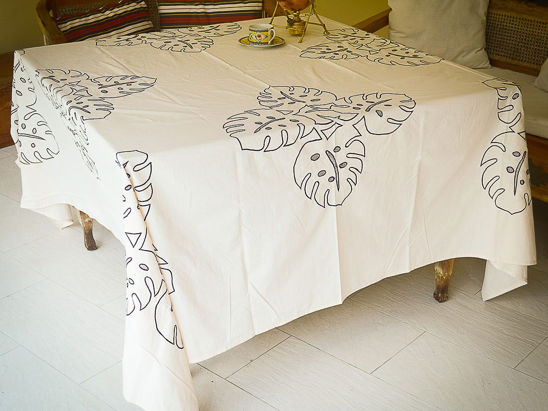 Tablecloth Embroidery Asana