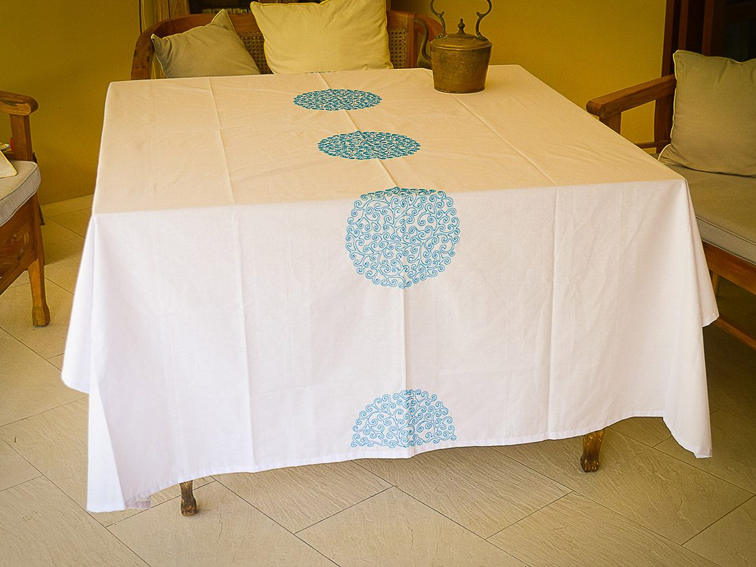 Tablecloth Coralie Circle