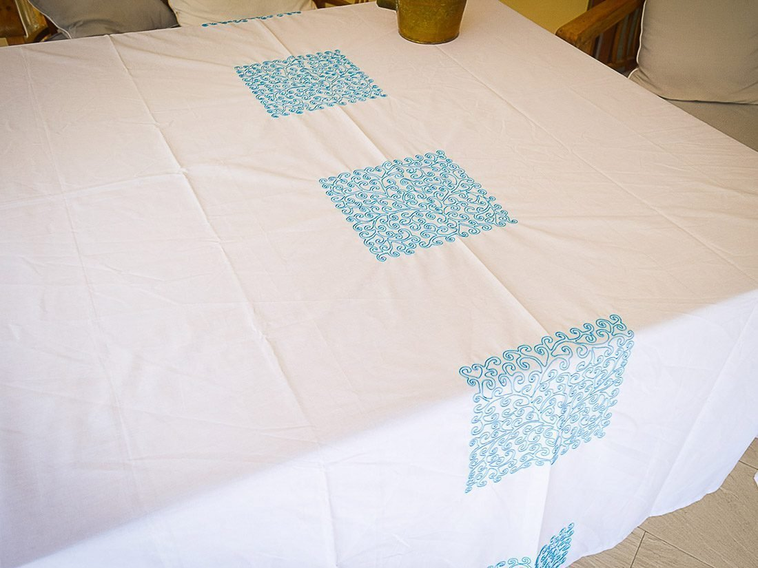 Tablecloth Coralie Square